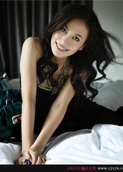 可爱靓丽明星叶璇清纯写真