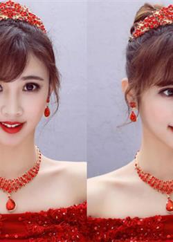 气质优雅的刘海新娘发型,做一个美美的新娘