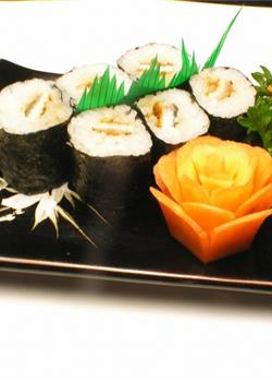 鳗鱼寿司卷美食素材图片炖品汤羹