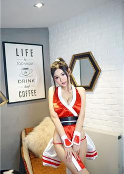 沈梦瑶动漫美女cosplay性感写真