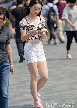 街拍:北京街拍的美女们
